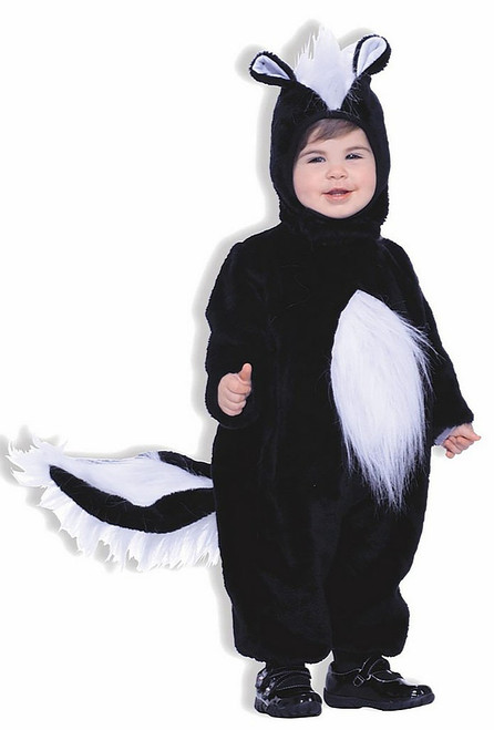 Boys Plush Skunk Costume