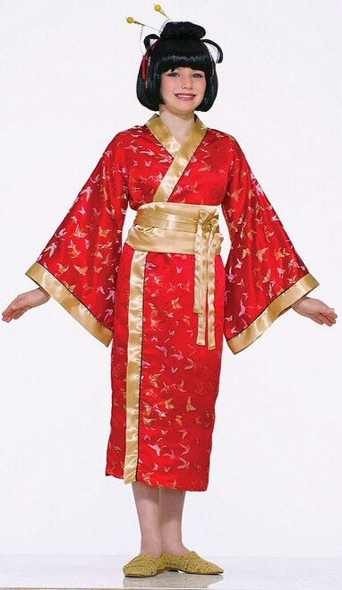 Madame Butterfly Asian Child Costume
