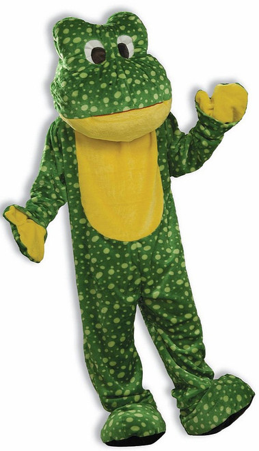 Deluxe Plush Frog Mascot