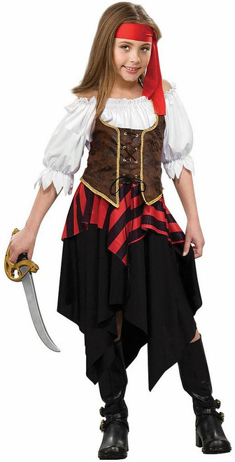 Buccaneer Sweetie Child Costume