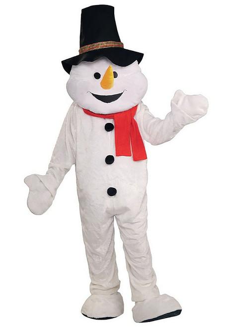 Snowman Mascot Plush Costume