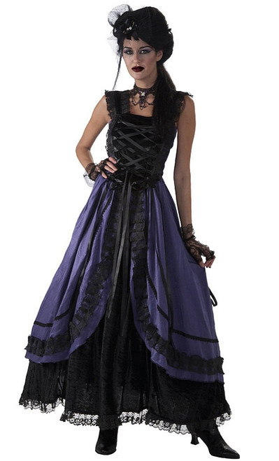 Purple Gothic Dress Costume