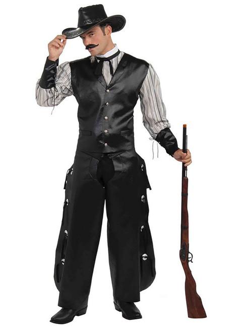 Wild West Rogue Gambler Costume