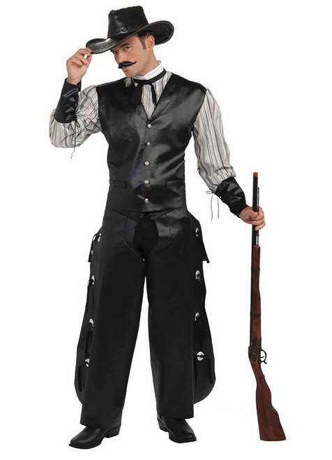 Wild West Rogue Gambler Costume