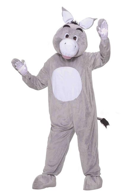 Plush Donkey Mascot Costume