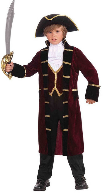 Captain Boy Pirate Costume