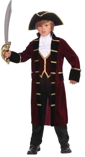 Captain Boy Pirate Costume