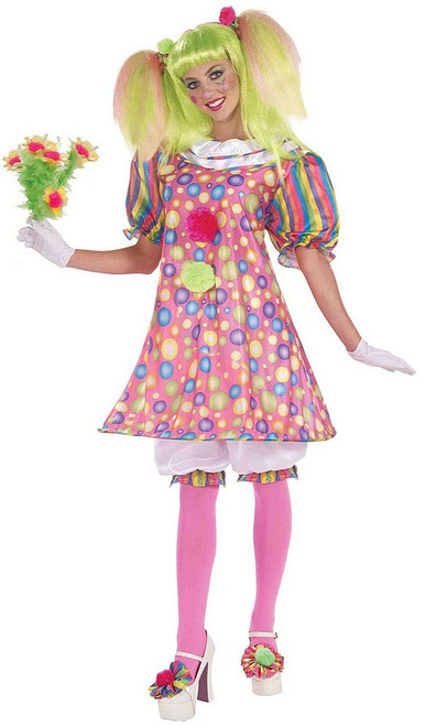 Tickles the Clown Womens Costume