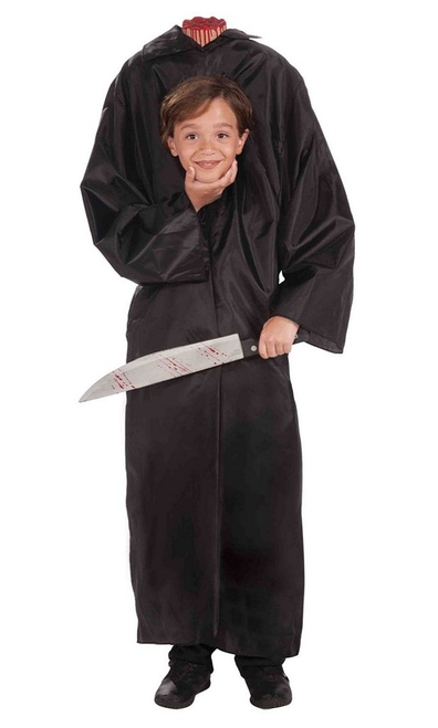 Headless Boy Costume