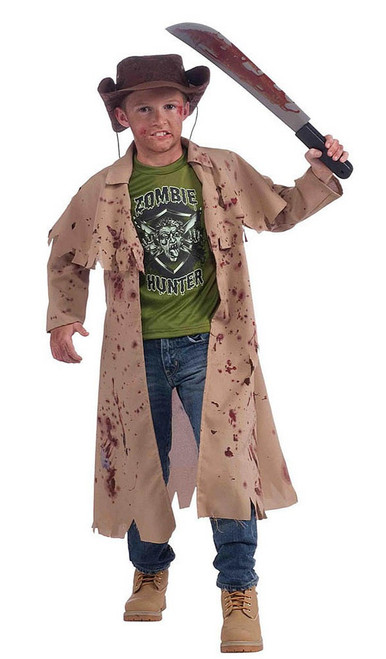 Zombie Hunter Boy Costume