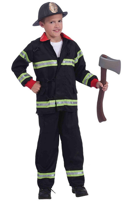 Fireman Costume for Kids
