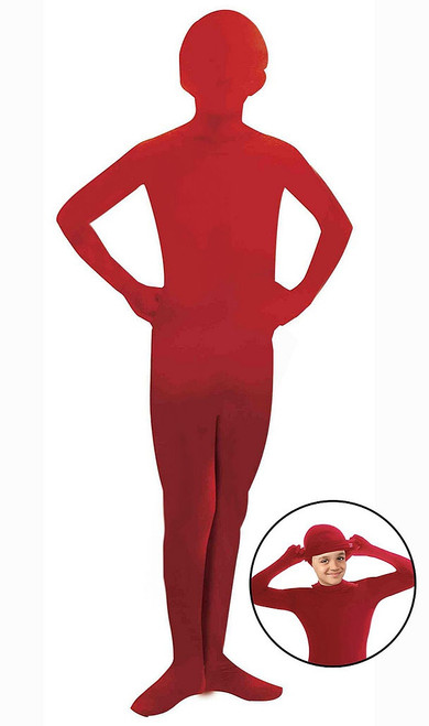 Red Skinsuit Costume for Kids
