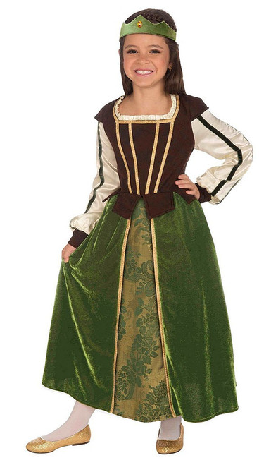 Maid Marion Girl Costume