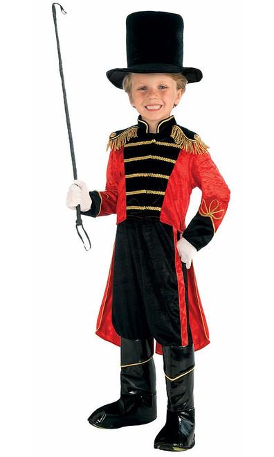 Ringmaster Costume Child
