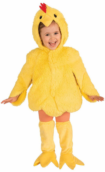 Plush Chicken Child Costume