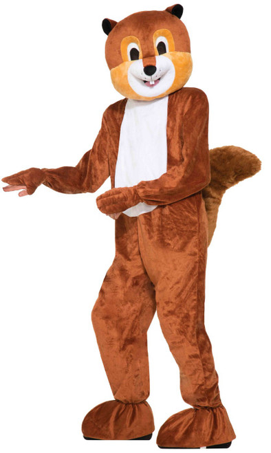 Scamper the Squirrel Mascot