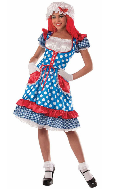 Rag Doll Lady Costume