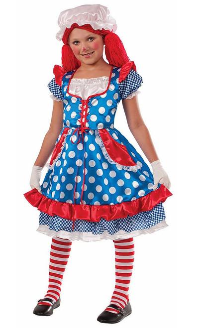 Rag Doll Girl Classic Costume