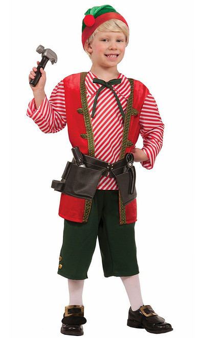 Toy Maker Elf Child Costume
