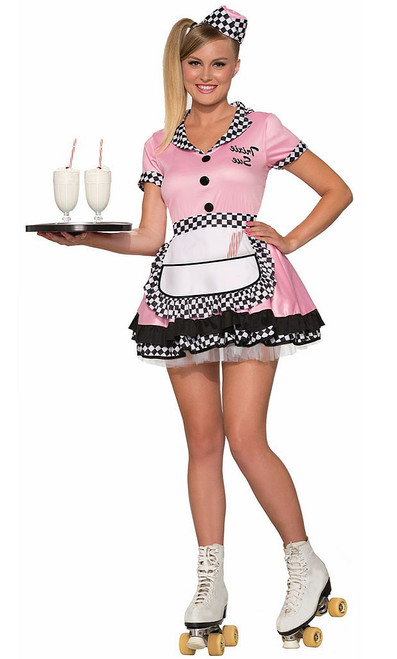 50's Trixie Car Hop Costume