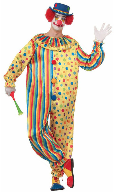Spots the Clown Costume Adult