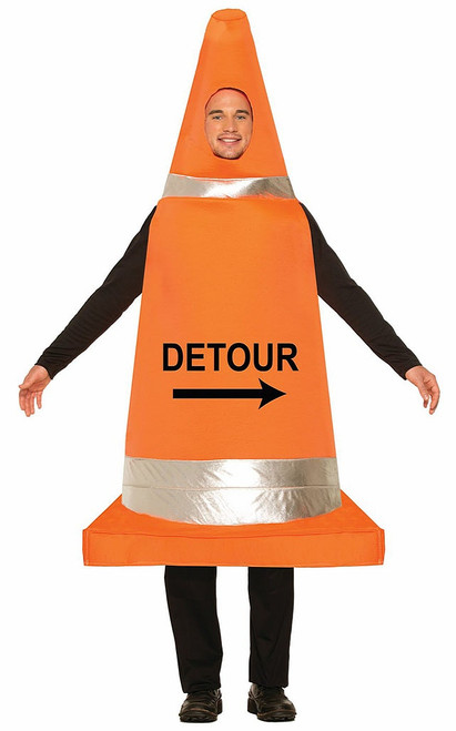 Traffic Cone Adult Costume