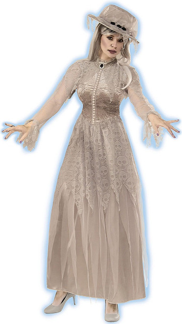 Victorian Ghost Woman Costume