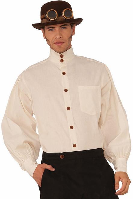 Beige Steampunk Shirt