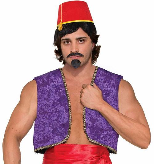 Purple Genie Vest Aladdin