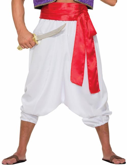 Desert Prince White Pants