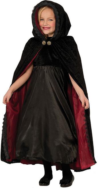 Gothic Vampiress Cape Child