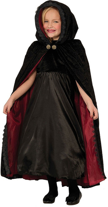 Gothic Vampiress Cape Child