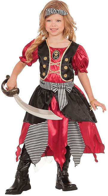 Princess Kids Pirate Costume