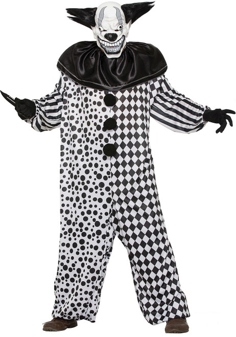 Al the Evil Clown Adult Costume