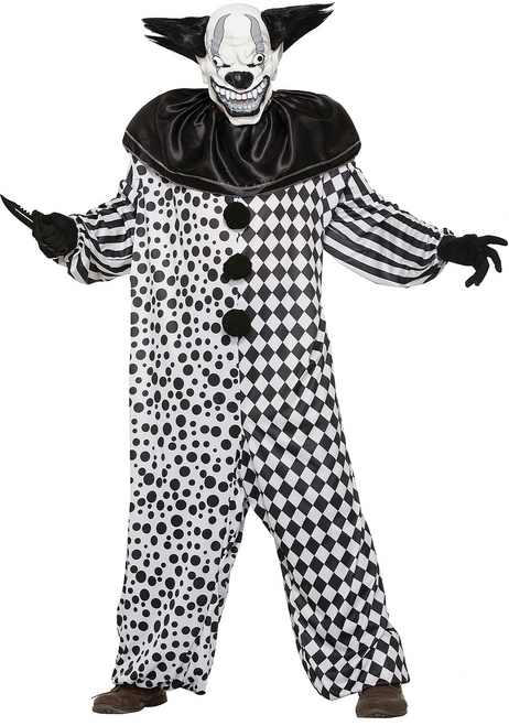 Al the Evil Clown Adult Costume
