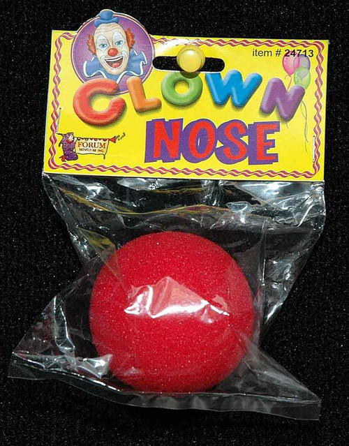 Clown Red Foam Nose