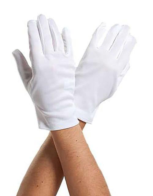 White Adult Gloves