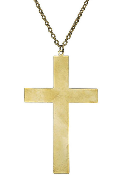 Metal Gold Cross