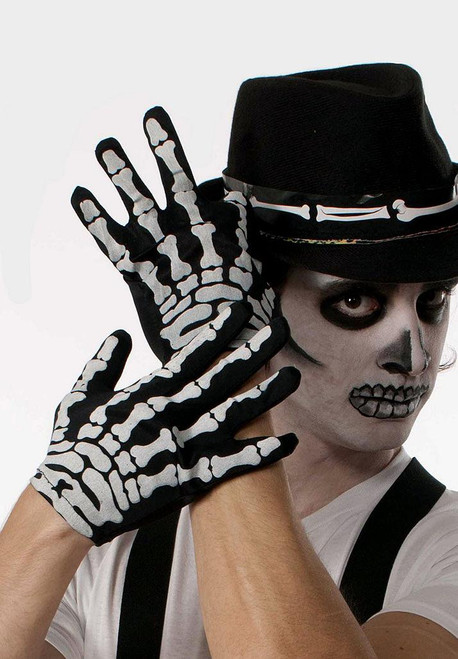 Skeleton Gloves for Adults