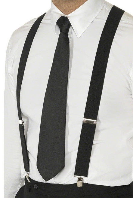 Black suspenders