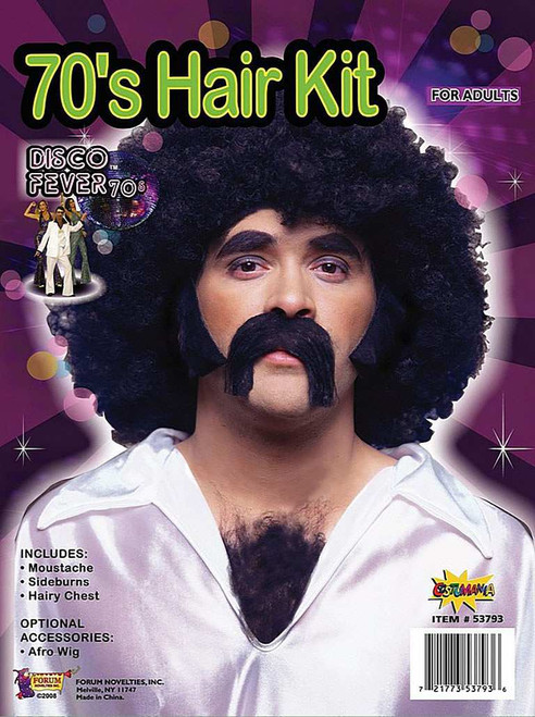 Kit 70's Disco Man