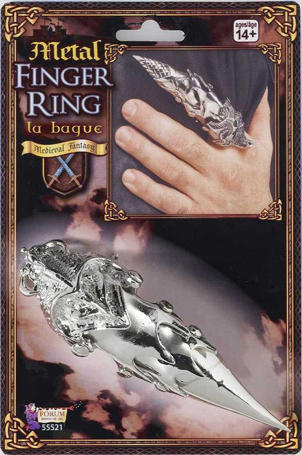 Gothic Full Finger Ring