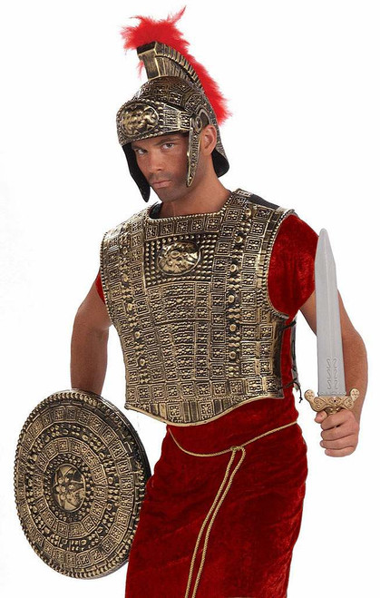 Gold Roman Chest Plate Set