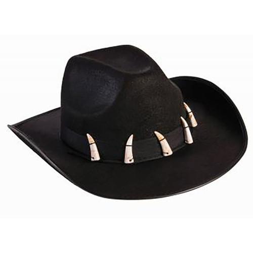 Hunter Cowboy Hat with Teeth