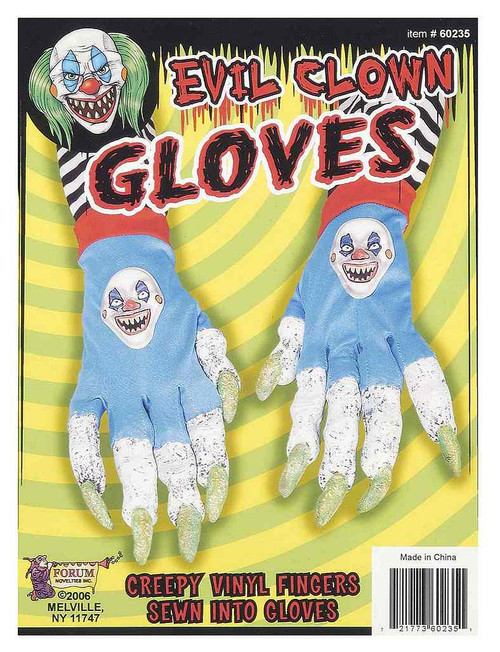 Evil Clown Gloves