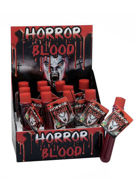 Test Tube Horror Blood
