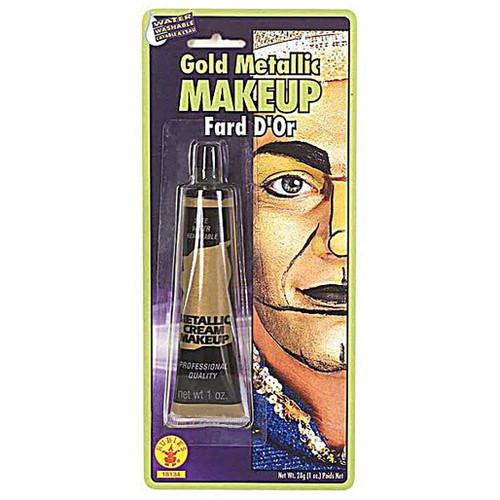 Gold Metallic Cream Makeup