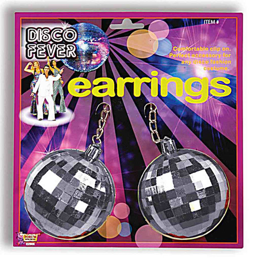 Jumbo Disco Ball Earrings