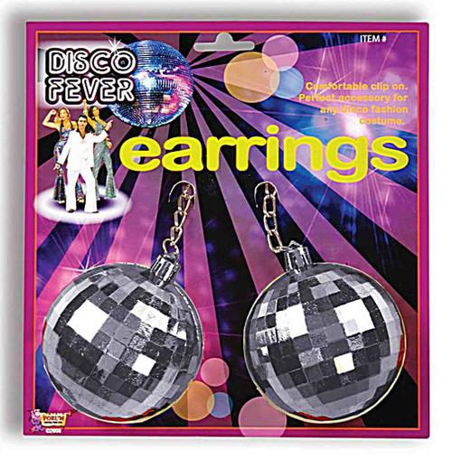 Jumbo Disco Ball Earrings