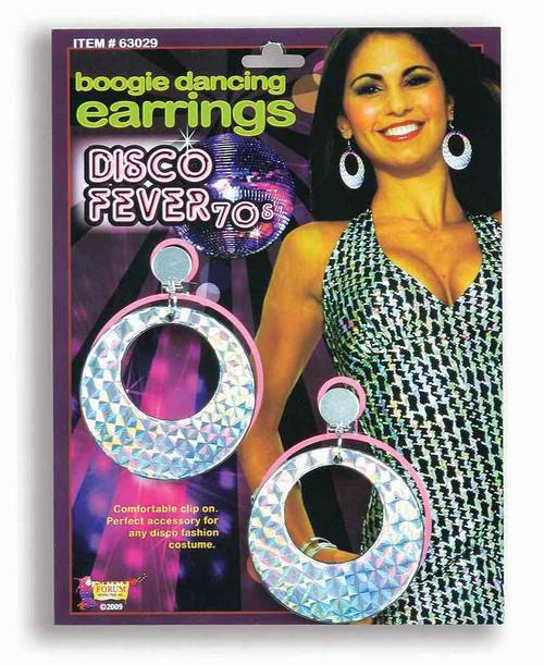 Disco Boogie Dancing Earrings